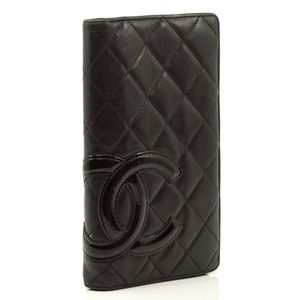 Chanel Bags - Auth Chanel Long Wallet Cambon Vintage #1223C10